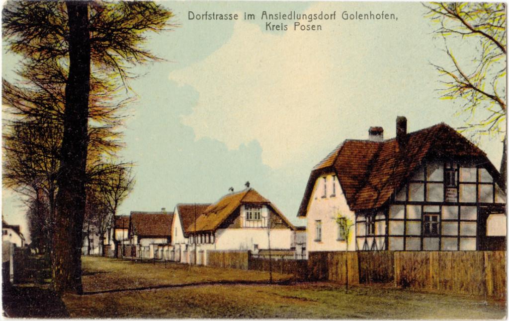 Golenhofen 1905 - pocztówka ze zbiorów A&G Grupińskich