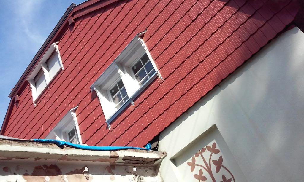 karczma - odnowiony dach